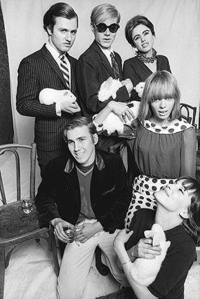 Gerard-Malanga-Andy-Warhol-Edie-Sedgwick-Chuck-Wein-Anita-Pallenberg-guest