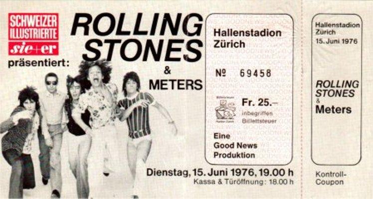 rolling stones zürich 1976