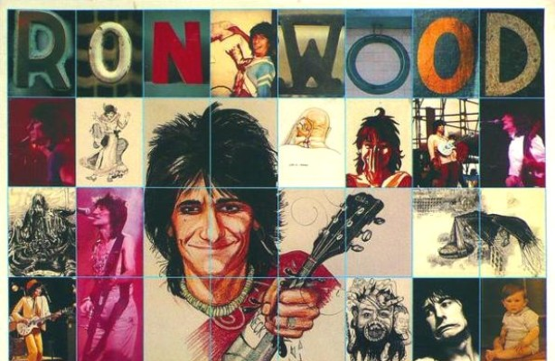 ronnie wood gimme some neck cover 1979