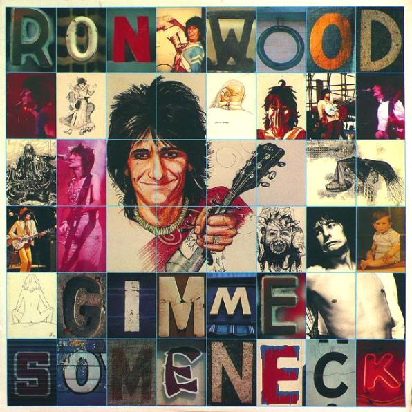 ronnie wood gimme some neck 1979