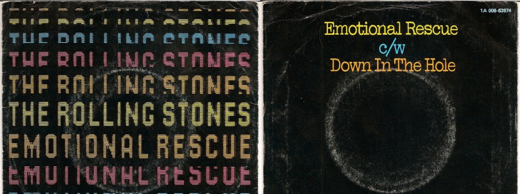 Rolling Stones Emotional Rescue single