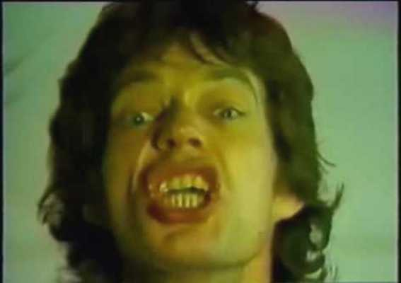stones jagger tattoo you promo video 1981