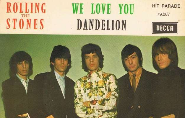 rolling stones we love you 1967