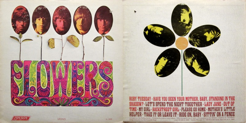 rolling stones flowers my girl