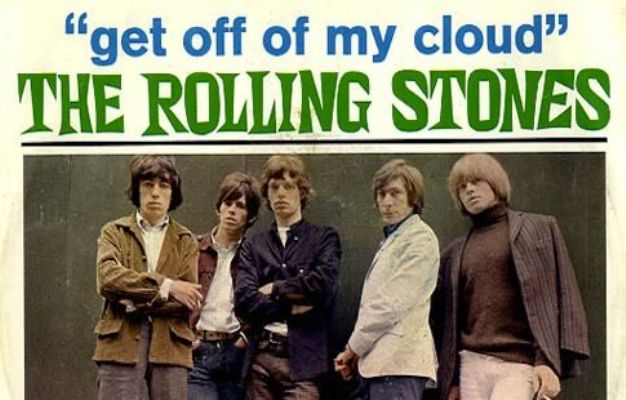 rolling stones get off of my cloud jagger quote