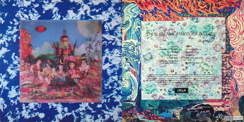 rolling stones their satanic majesties request she's a rainbow