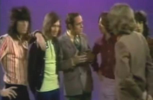 rolling stones music scene TV 1969
