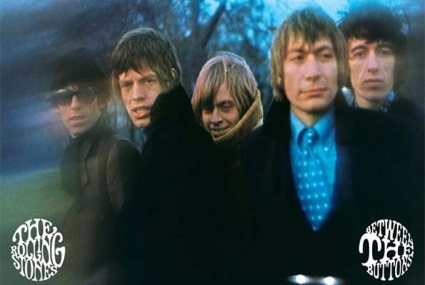 rolling stones between the buttons 1966