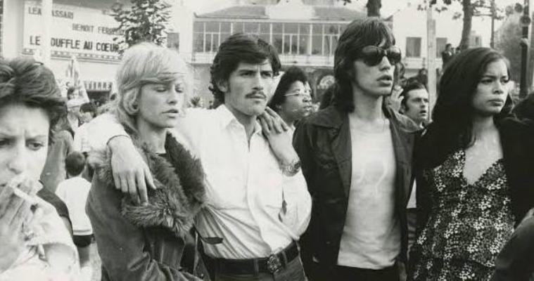 mick jagger bianca angela davis 1972