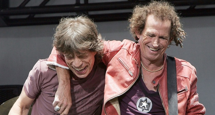 rolling stones jagger richards quote 2005