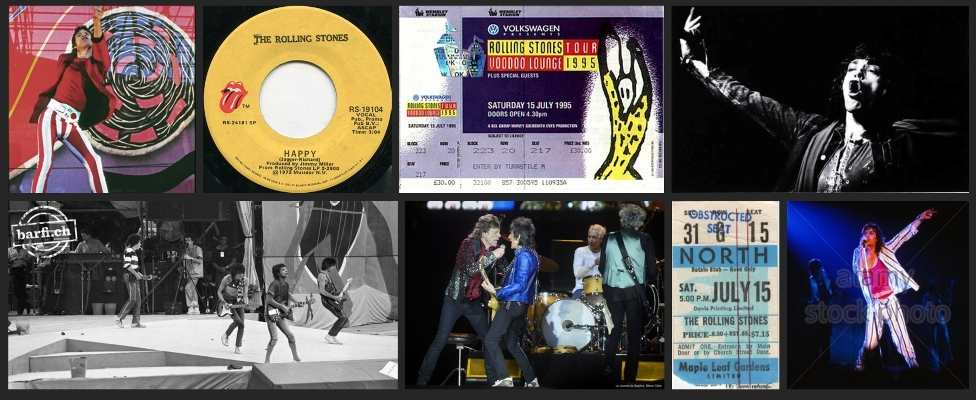 rolling stones chronology July 15
