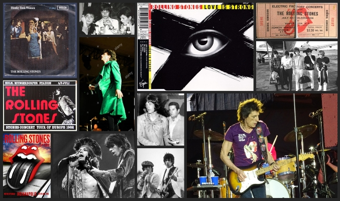 rolling stones chronology july 4