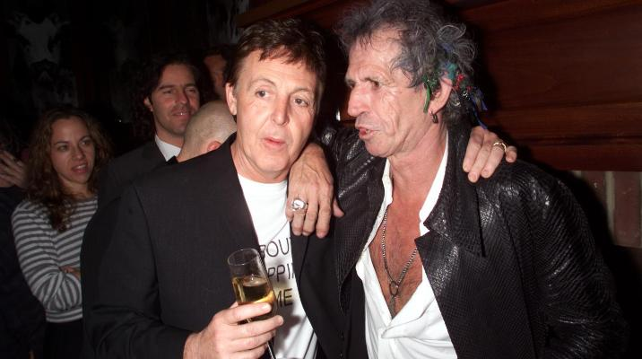 keith richards paul mccartney quotes