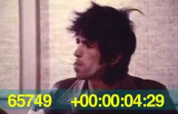 keith richards going to court 1977