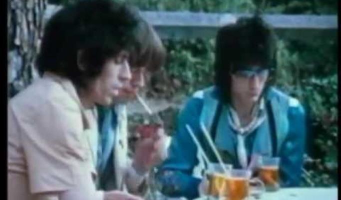 rolling stones jagger richards wood interview paris 1976