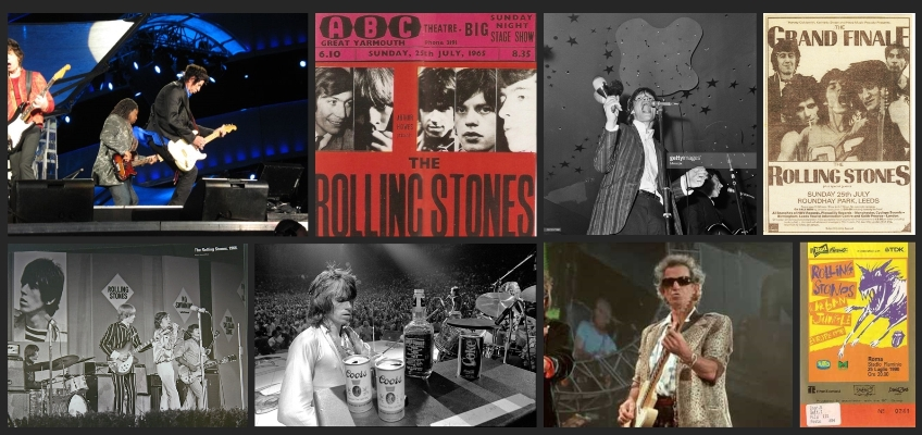 rolling stones chronology july 25