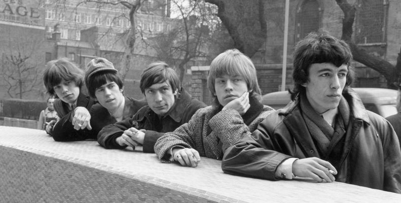 rolling stones reelin and a rockin 1964