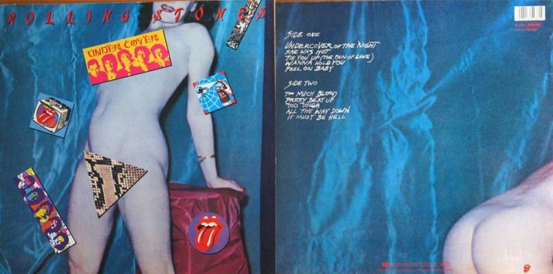 rolling stones undercover too much blood 1983