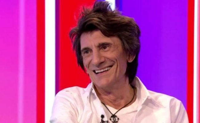 ronnie wood interview 2017
