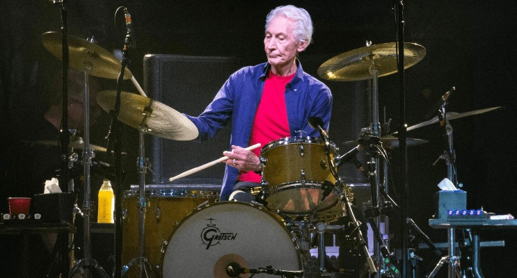 charlie watts rolling stones no filter 2021