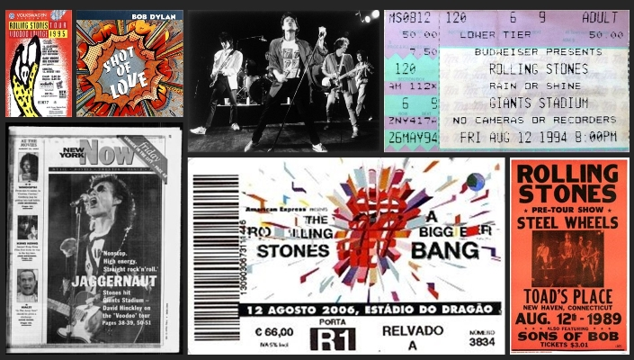 rolling stones chronology august 12