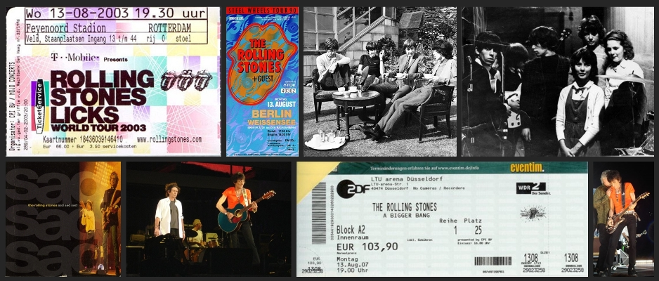 rolling stones chronology august 13