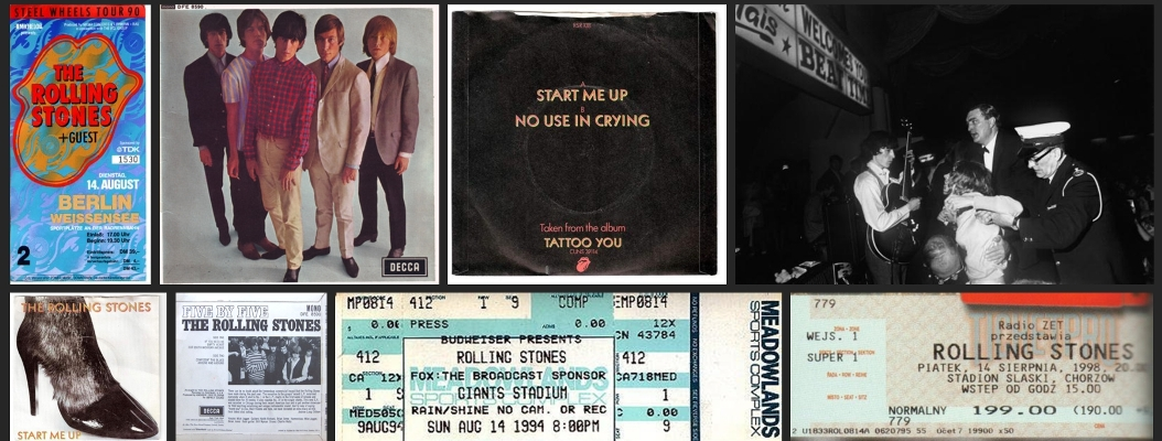 rolling stones chronology august 14