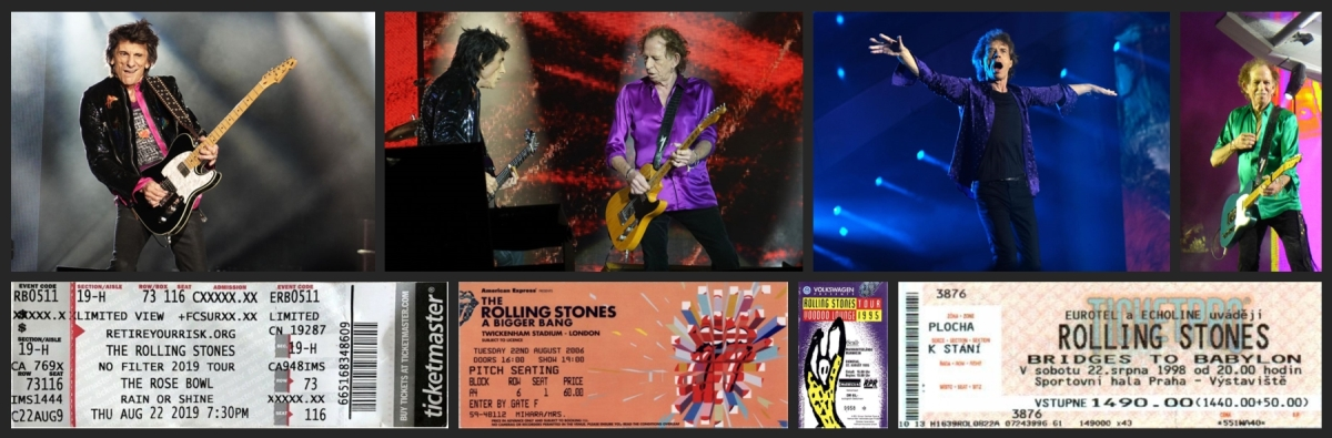 rolling stones chronology august 22