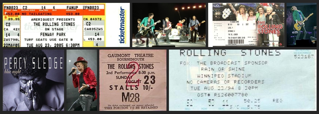 rolling stones chronology august 23