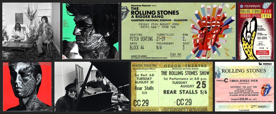 rolling stones chronology august 25