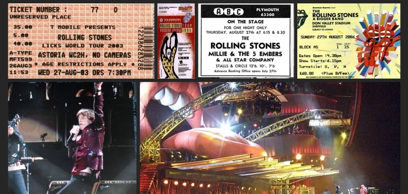 rolling stones chronology august 27