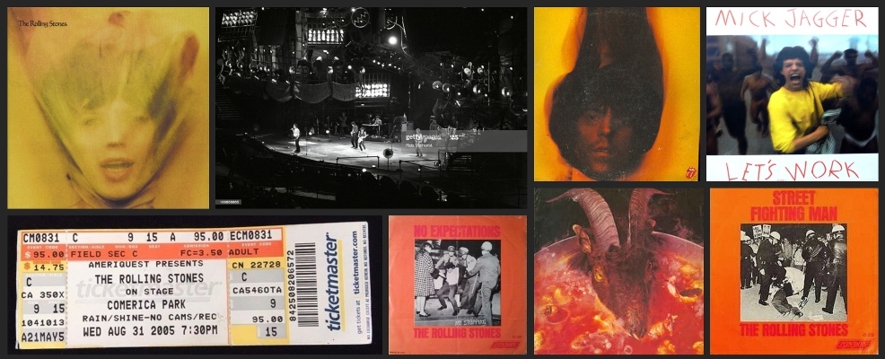 rolling stones chronology august 31