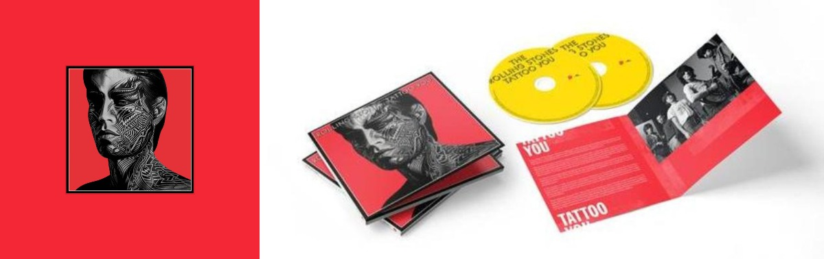 rolling stones TATTOO YOU 40TH ANNIVERSARY REMASTERED