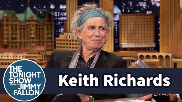 Keith Richards Chuck Berry TV 2014