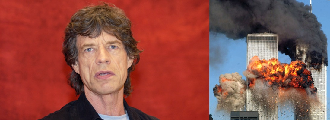 mick jagger quote september 11 2001