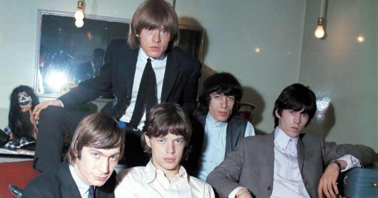 rolling stones as time goes by 1964