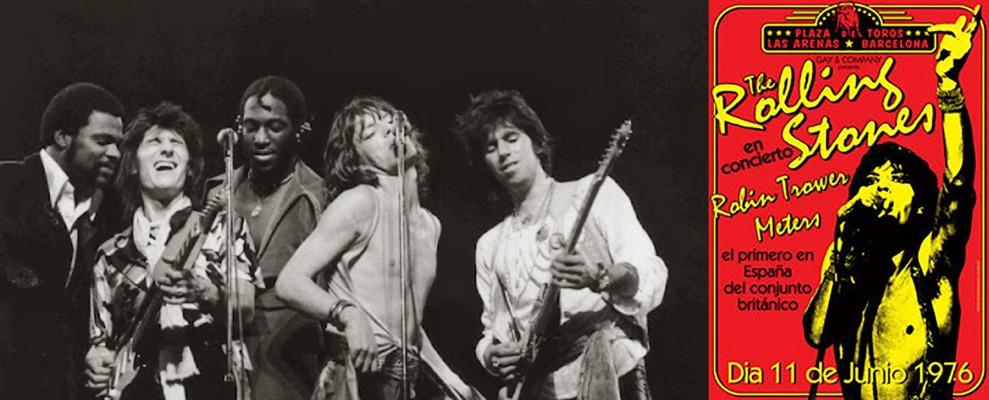 rolling stones barcelona 1976