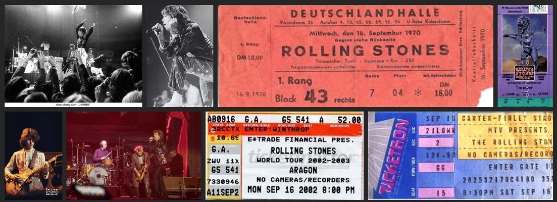 rolling stones chronology september 16