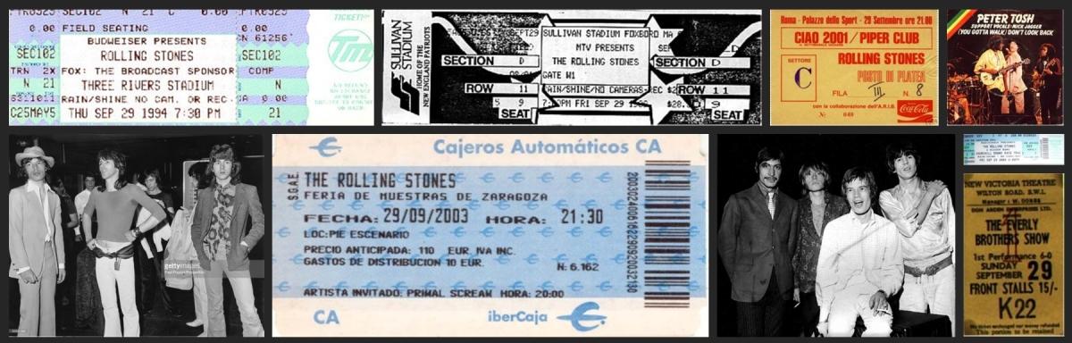 rolling stones chronology september 29