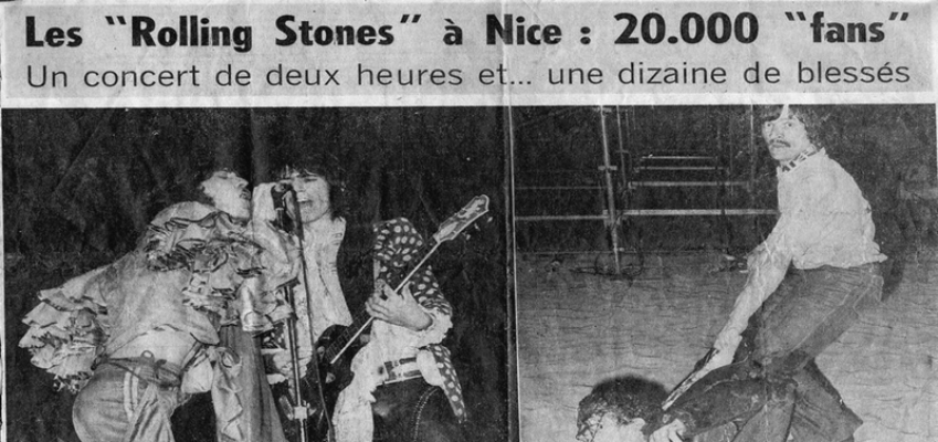 rolling stones nice france 1976