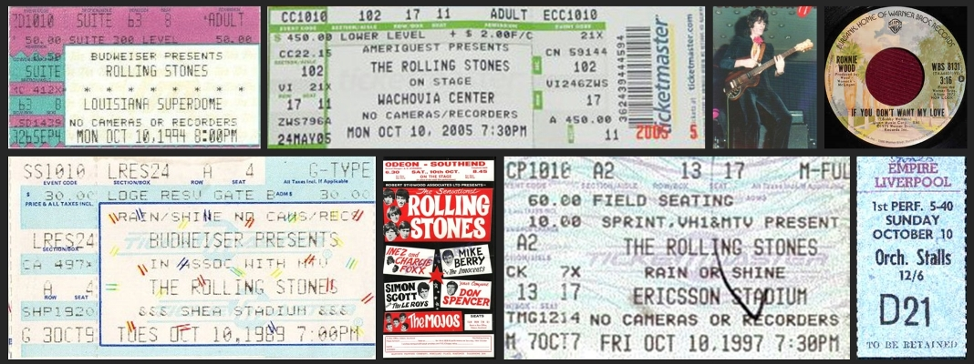 rolling stones chronology october 10