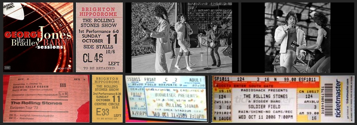 rolling stones chronology october 11