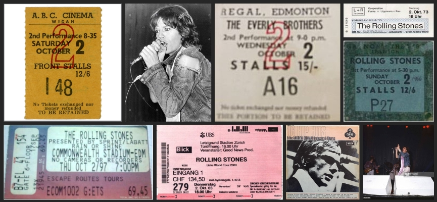 rolling stones chronology october 2
