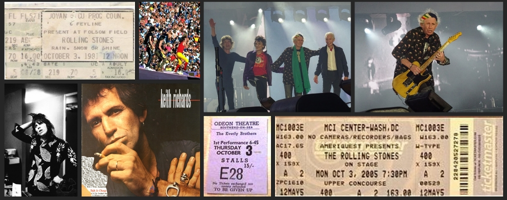 rolling stones chronology october 3