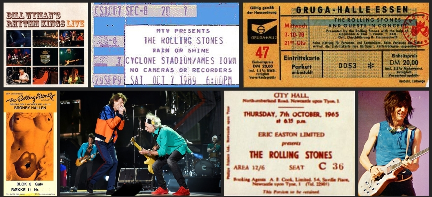 rolling stones chronology october 7