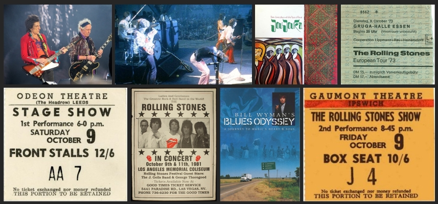 rolling stones chronology october 9