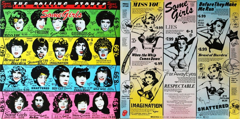 rolling stones some girls more fast numbers